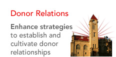 Donor Relations - Enhance strategies to establish and cultivate donor relationships